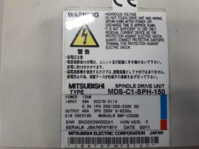 Mitsubishi Spindelregler MDS-C1-SPH-150