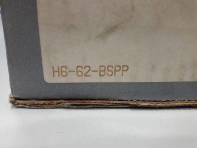 Parker Hydraulikanschluss / Kupplung H6-62-BSPP
