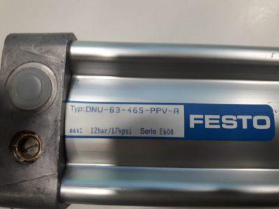 Festo Pneumatikzylinder DNU-63-465-PPV-A