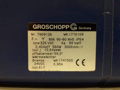 Groschopp Servomotor BGK 90-80 NVB Volksservo (mit Bremse)