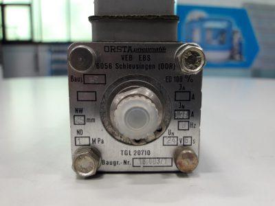 Orsta Hydraulik Wegeventil 6-10.1 TGL-5410 mit TGL20710 (einfach)