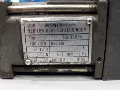 Orsta Hydraulik Wegeventil TGL26223/60 mit G45H TGL32094 (doppelt)