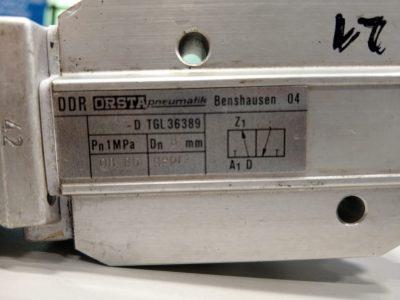 Orsta Hydraulikventil A8-D TGL36389 mit TGL20710 (einfach)