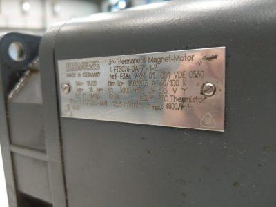 Siemens Servomotor 1FT5 076-0AF71-1-Z