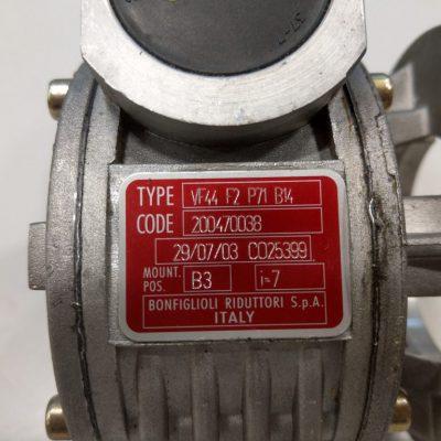 Bonfiglioli Schneckengetriebe VF44 F2 P71 B14