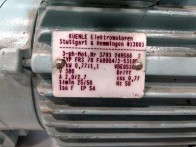Küenle Getriebemotor FRS 70 FA80G4