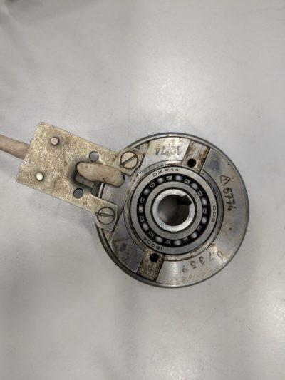 Elektromagnet Lamellenkupplung KLDO 0,63 Ø 15mm