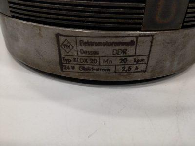 Elektromagnet Lamellenkupplung KLDX 20 Ausführung C; 6 Keile