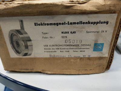 Elektromagnet Lamellenkupplung KLDX 0,63