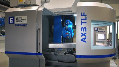 AX3 TLF AUERBACH Tiefbohr- und Fräsmaschine