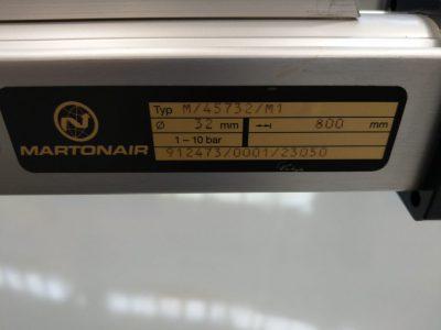 Lintra Martonair Pneumatikzylinder M/45732/M1/800
