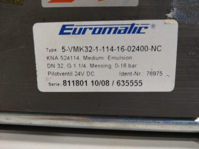 Euromatic Wegeventil 5-VMK32-1-114-16-02400-NC