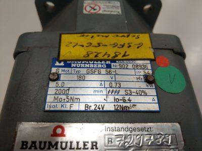 Baumüller Servomotor GSFG 56-L