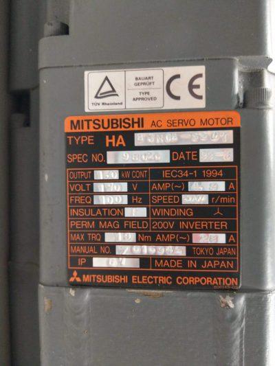 Mitsubishi Servomotor HA83NCB-SSD7