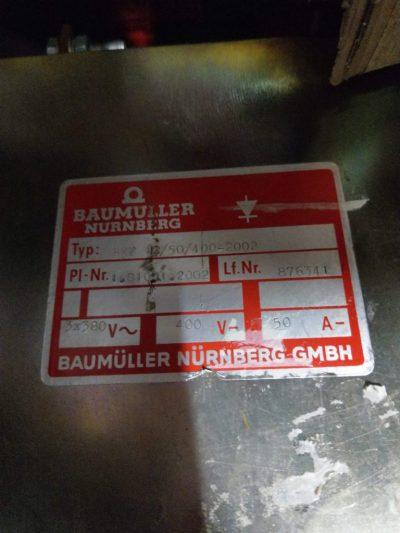 Baumüller Stromrichter BKF12/50/400-2002