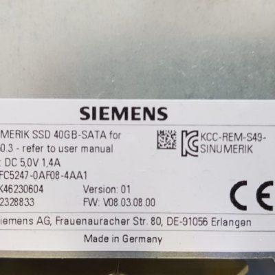 6FC5247-0AF08-4AA1 SINUMERIK Festplatte SSD 40GB