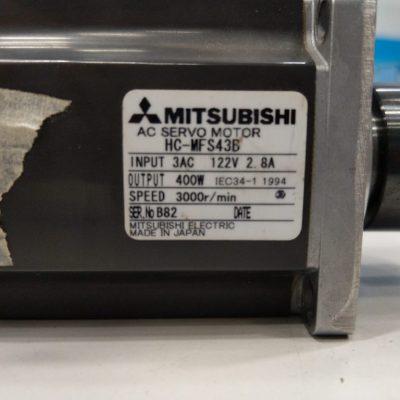 Mitsubishi Servomotor HC-MFS43B
