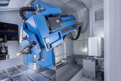 AX2 TLF AUERBACH Tiefbohr- und Fräsmaschine