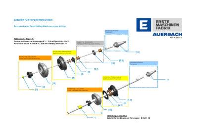 Dichtgehäuse für IXION AUERBACH Maschinen komplett Bohrbereich 3,0mm bis 5,0mm