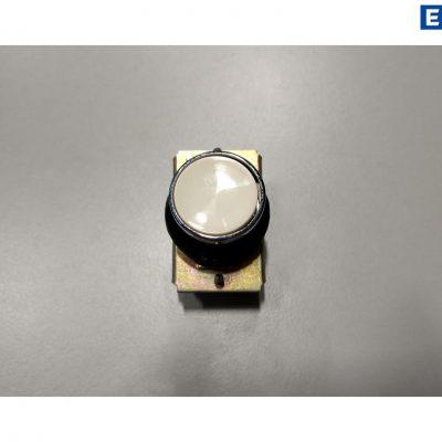 Taster Druckschalter, Tastereinheit, Tastvorsatz Weiß, rund