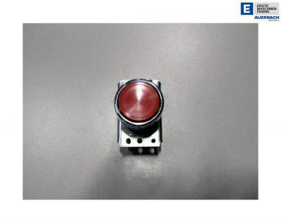 Taster Druckschalter, Tastereinheit, Tastvorsatz Rot, rund