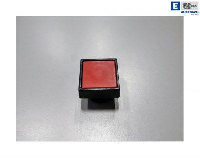 Taster Druckschalter, Tastereinheit, Tastvorsatz Rot, eckig