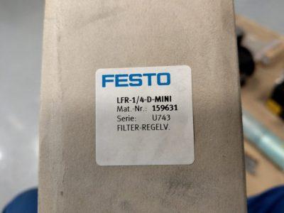 Festo Filter-Regelventil LFR-1/4-D-MINI (mit Manometer)