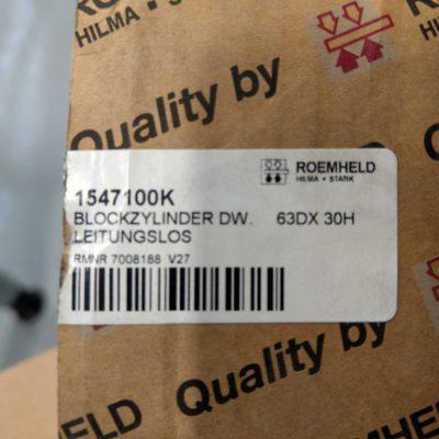 Roemheld Hydraulik Blockzylinder 1547 100K