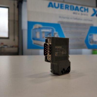 Siemens Bus-Stecker 35° 6ES7972-0BA42-0XA0 (mit PG-Buchse)