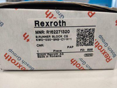 Rexroth Führungswagen Kugelwagen R162271320 KWD-030-SNS-C1-H-1