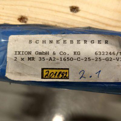 Schneeberger Führungsschiene MR35-A2-1650-C-25-25-G2-V3
