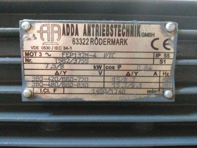 Adda Drehstrommotor Flanschmotor FEP132M-4