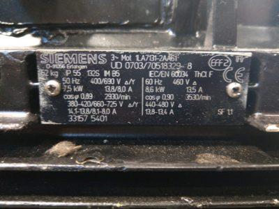 Siemens Drehstrommotor 1LA7 131-2AA61
