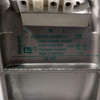 ebmpapst Schaltschranklüfter W2E200-HH38-01