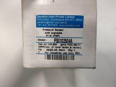 Janatics digitaler Drucksensor PS0102504A