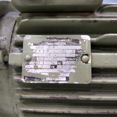 VEM Thurm Drehstrommotor Fußmotor KMR80 K8