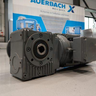 Rehfuss Stirnrad-Schneckengetriebe Getriebemotor SS140HF-90S/4-BR03