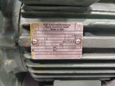 VEM Thurm Drehstrommotor KPER 80 K 4
