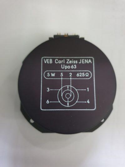 VEB Carl Zeiss Jena UPO 63 Potentiometer 5W 625Ohm