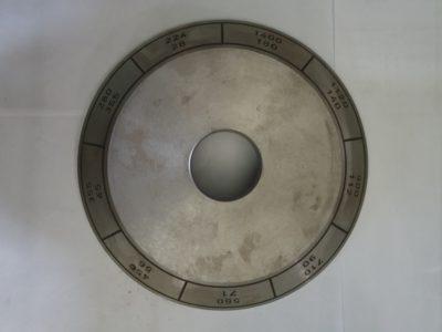Skalenscheibe Drehzahl für AUERBACH FU250, F250, FW250