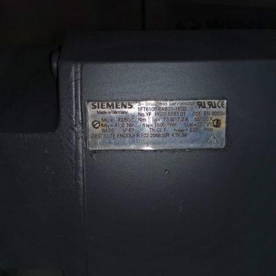 Siemens AC-Servomotor 1FT6105-8AB71-1EG2